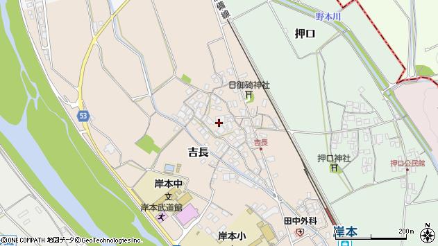 〒689-4133 鳥取県西伯郡伯耆町吉長の地図