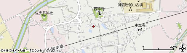 島根県出雲市斐川町神庭周辺の地図