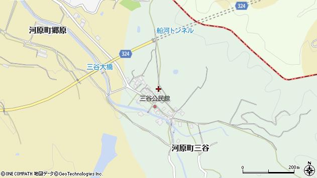 〒680-1206 鳥取県鳥取市河原町三谷の地図