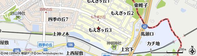 愛知県犬山市善師野(小洞口)周辺の地図