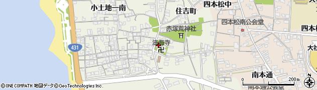 法海寺周辺の地図