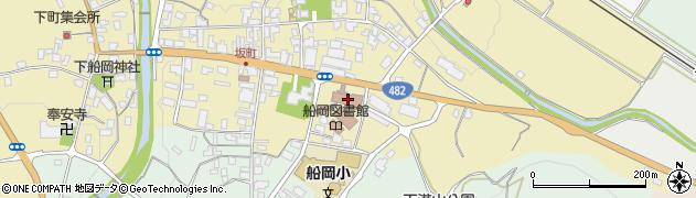 八頭町役場 議会事務局周辺の地図