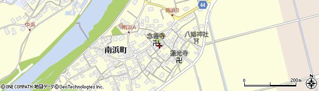 念善寺周辺の地図