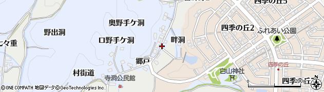 愛知県犬山市善師野(竹ノ街道)周辺の地図