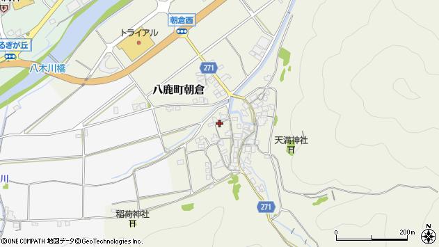 〒667-0024 兵庫県養父市八鹿町朝倉の地図