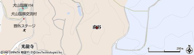 愛知県犬山市継鹿尾(南谷)周辺の地図