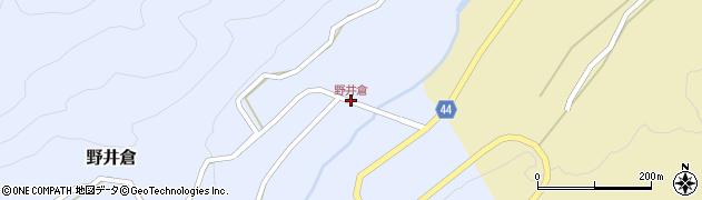 野井倉周辺の地図