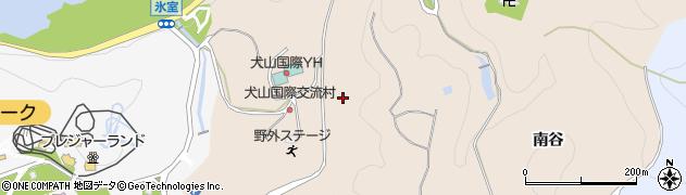 愛知県犬山市継鹿尾(光龍寺)周辺の地図