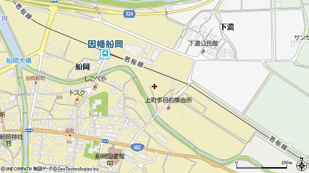 〒680-0471 鳥取県八頭郡八頭町船岡の地図