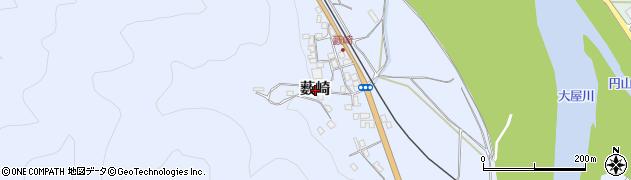 兵庫県養父市薮崎周辺の地図