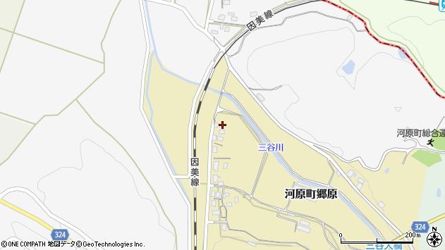 〒680-1207 鳥取県鳥取市河原町郷原の地図