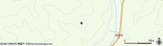 長野県阿智村(下伊那郡)浪合(恩田)周辺の地図