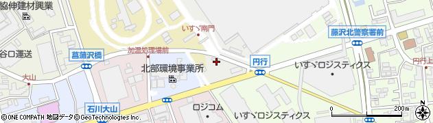 神奈川県藤沢市土棚1周辺の地図