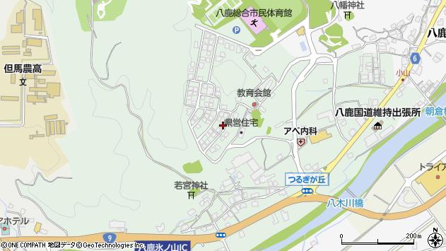 〒667-0044 兵庫県養父市八鹿町国木の地図