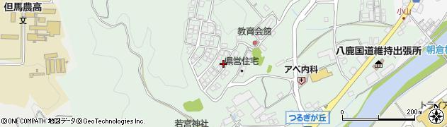 兵庫県養父市八鹿町国木周辺の地図