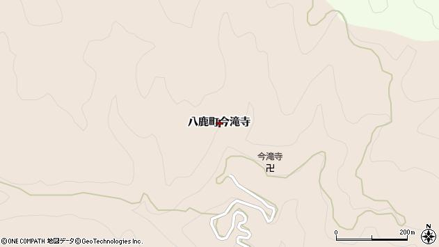 〒667-0042 兵庫県養父市八鹿町今滝寺の地図