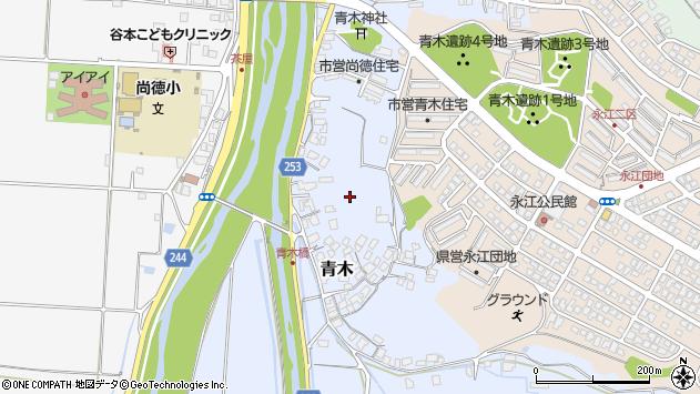 〒683-0252 鳥取県米子市青木の地図