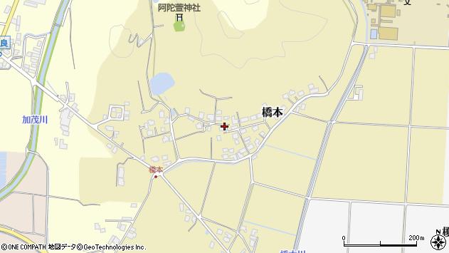 〒683-0023 鳥取県米子市橋本の地図