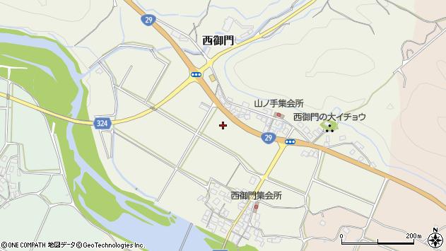 〒680-0441 鳥取県八頭郡八頭町西御門の地図