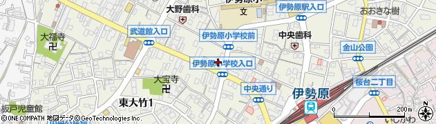 火伏不動尊周辺の地図