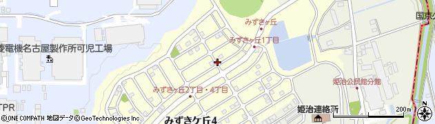 岐阜県可児市みずきケ丘周辺の地図