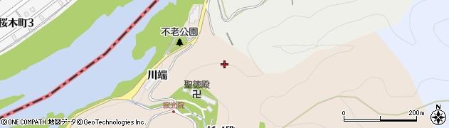 愛知県犬山市継鹿尾(川端)周辺の地図