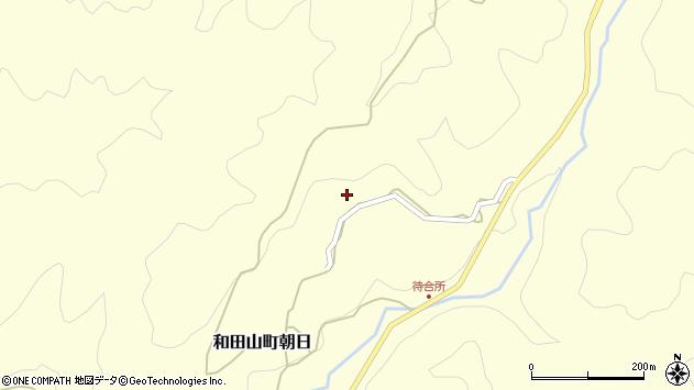 〒669-5238 兵庫県朝来市和田山町朝日の地図