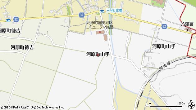 〒680-1211 鳥取県鳥取市河原町山手の地図