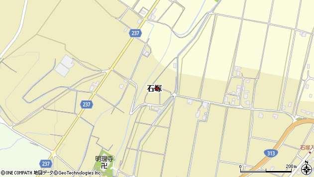 〒682-0933 鳥取県倉吉市石塚の地図