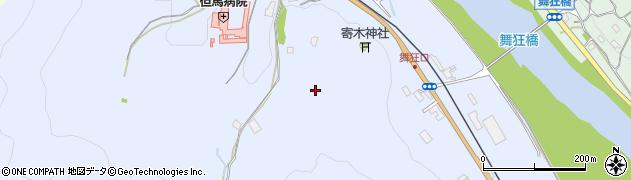 兵庫県養父市八鹿町上網場周辺の地図