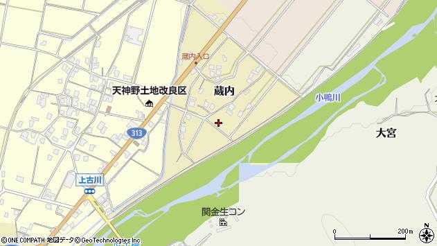 〒682-0932 鳥取県倉吉市蔵内の地図