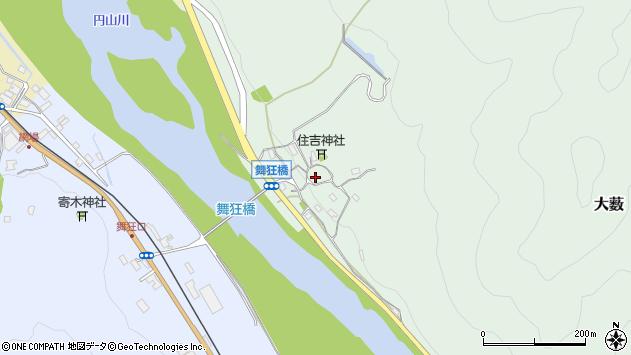 〒667-0016 兵庫県養父市八鹿町舞狂の地図