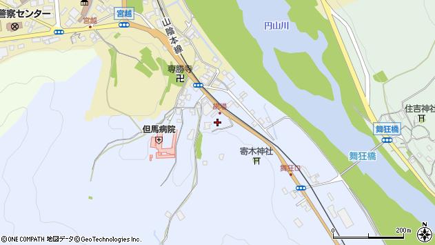 〒667-0023 兵庫県養父市八鹿町上網場の地図