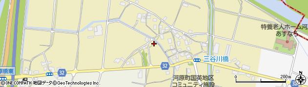 鳥取県鳥取市河原町今在家周辺の地図