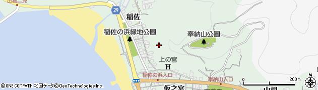 島根県出雲市大社町杵築北周辺の地図