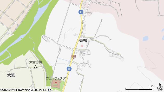 〒682-0834 鳥取県倉吉市東鴨の地図