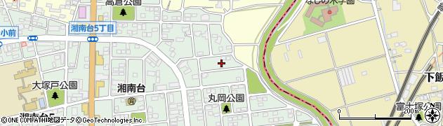 神奈川県藤沢市湘南台6丁目42周辺の地図