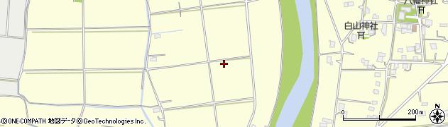 千葉県木更津市牛袋周辺の地図