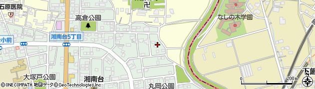 神奈川県藤沢市湘南台6丁目44周辺の地図