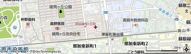 雄飛ケ丘第二住宅周辺の地図