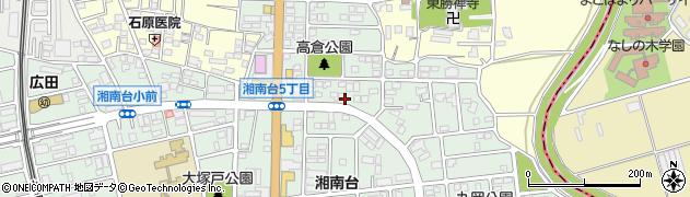 神奈川県藤沢市湘南台6丁目48周辺の地図