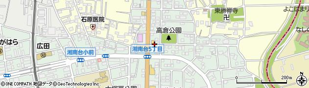 神奈川県藤沢市湘南台6丁目50周辺の地図