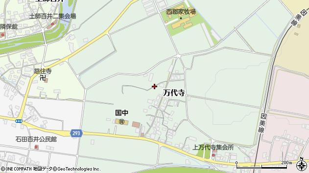 〒680-0453 鳥取県八頭郡八頭町万代寺の地図