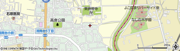 神奈川県藤沢市湘南台6丁目45周辺の地図