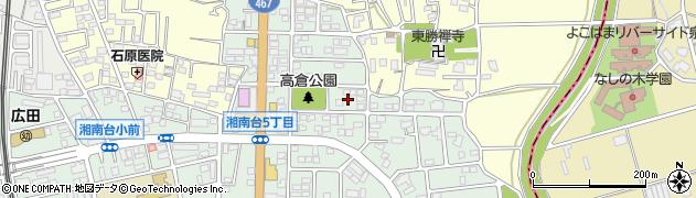 神奈川県藤沢市湘南台6丁目47周辺の地図