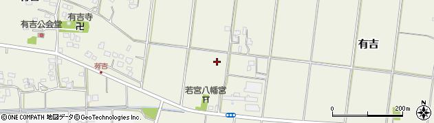千葉県木更津市有吉周辺の地図