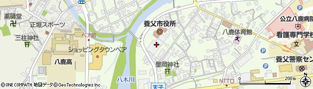 養父市立八鹿文化会館周辺の地図
