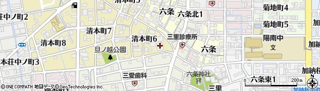 善超寺周辺の地図