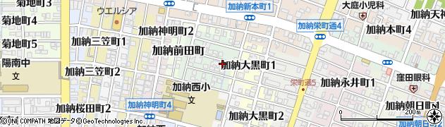 岐阜県岐阜市加納村松町周辺の地図
