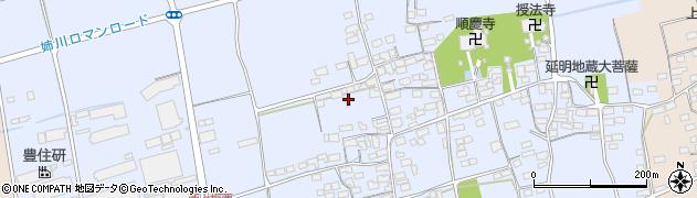 滋賀県長浜市西上坂町周辺の地図